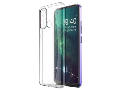 Ultra Thin Gel Case for Vivo Y30 - Clear Soft Cover