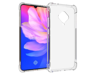 Gel Case with Bumper Edges for Vivo S1 Pro - Clear Soft Cover