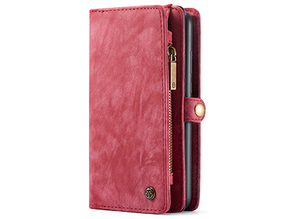 CaseMe 2-in-1 Synthetic Leather Wallet Case for Samsung Galaxy A51 - Pink/Blush