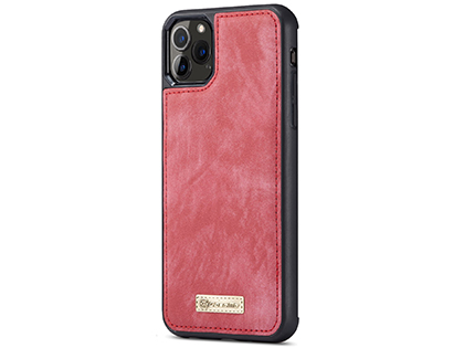 CaseMe 2-in-1 Synthetic Leather Wallet Case for iPhone 11 Pro - Rose