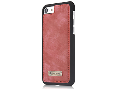 CaseMe 2-in-1 Synthetic Leather Wallet Case for iPhone 8/7 - Pink/Blush