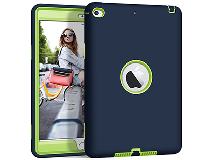 Impact Case for iPad Mini 5 (2019) - Navy/Lime Impact Case