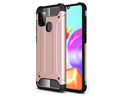 Impact Case for Samsung Galaxy A21s - Rose Gold Impact Case