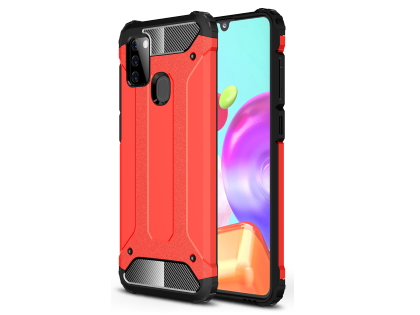 Impact Case for Samsung Galaxy A21s - Red Impact Case