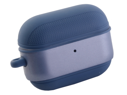 Soft Silicone Case for Apple AirPod Pros - Steel Blue Sleeve