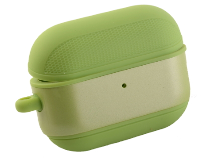 Soft Silicone Case for Apple AirPod Pros - Apple Green Sleeve