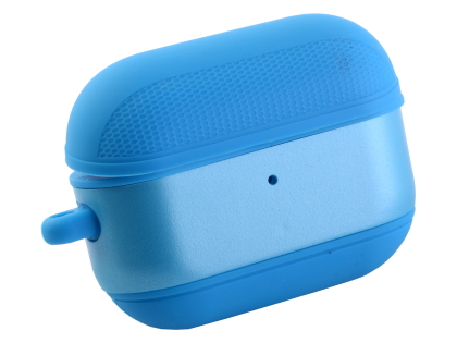 Soft Silicone Case for Apple AirPod Pros - Bondi Blue Sleeve