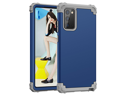 Defender Case for the Samsung Galaxy Note20 - Navy Impact Case