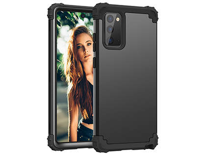 Defender Case for the Samsung Galaxy Note20 - Black Impact Case