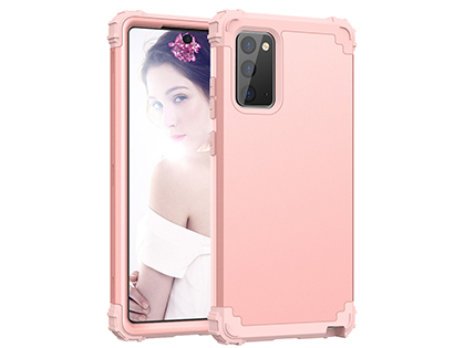 Defender Case for the Samsung Galaxy Note20 - Pink Impact Case
