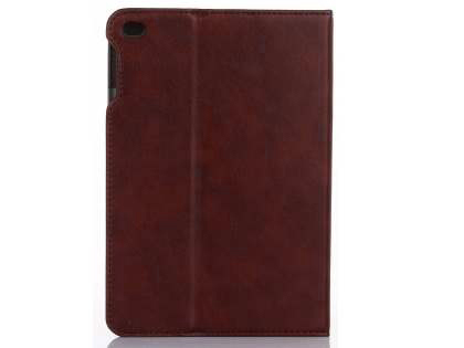 Synthetic Leather Case with Stand for iPad Mini 4 - Burgundy