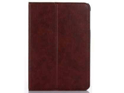 Synthetic Leather Case with Stand for iPad Mini (2019) - Burgundy