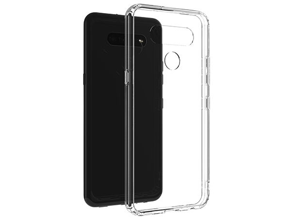Ultra Thin Gel Case for LG K61 - Clear Soft Cover