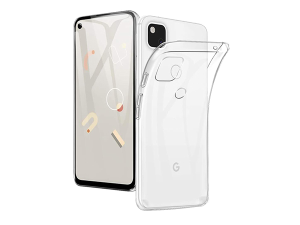 Ultra Thin Gel Case for Google Pixel 4a - Clear Soft Cover