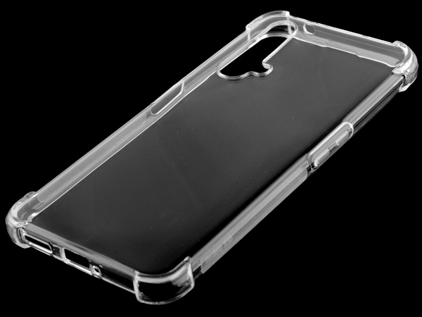 Gel Case with Bumper Edges for OPPO Realme X3 SuperZoom - Clear Soft Cover