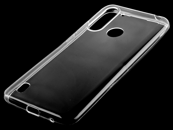 Ultra Thin Gel Case for Motorola Moto G8 Power Lite - Clear Soft Cover