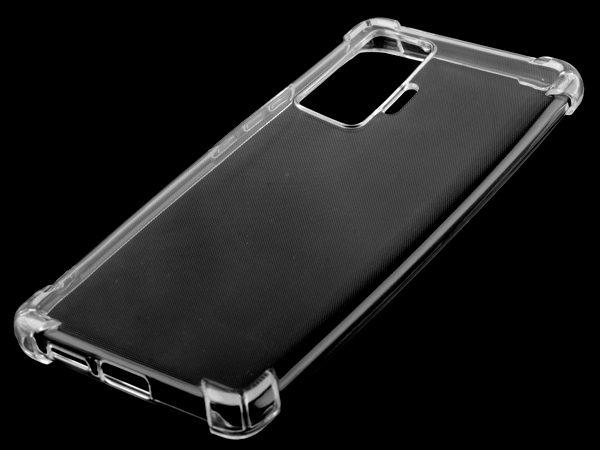 Gel Case with Bumper Edges for Vivo X50 Pro - Clear Soft Cover