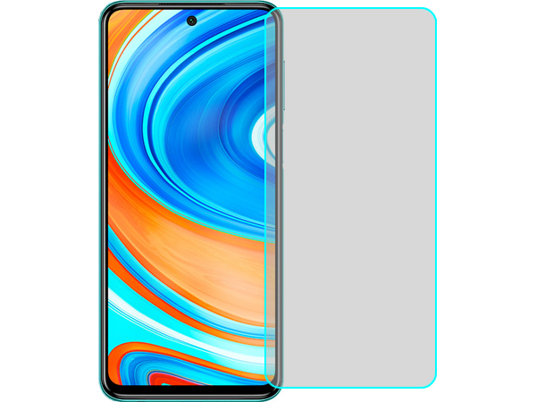 Flat Tempered Glass Screen Protector for Xiaomi Redmi Note 9 Pro - Screen Protector