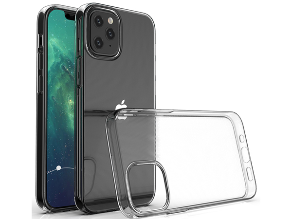 Ultra Thin Gel Case for iPhone 12 Pro - Clear Soft Cover