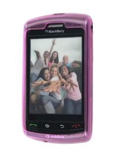 TPU Gel Case for BlackBerry Storm 9500/9530 - Pink Soft Cover