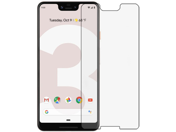 Flat Tempered Glass Screen Protector for Google Pixel 3 XL - Screen Protector