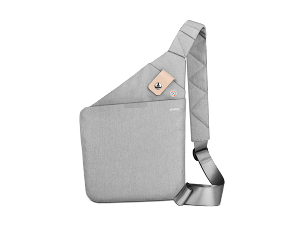 WiWU Shoulder Holster Bag - Grey Device Bag