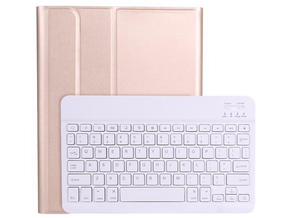 Keyboard and Case for iPad Air 4 - Gold Keyboard