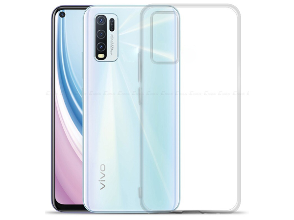 Ultra Thin Gel Case for Vivo Y20s - Clear Soft Cover