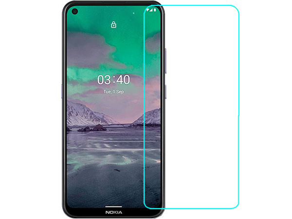 Flat Tempered Glass Screen Protector for Nokia 3.4 - Screen Protector