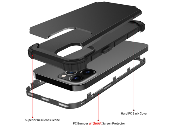 Defender Case for iPhone 11 Pro - Black