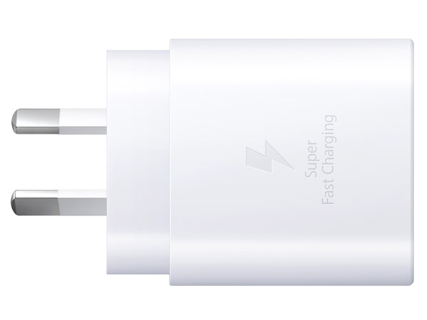 Genuine Samsung 25W USB-C Super Fast Charger Adapter - White AC USB Power Adapter