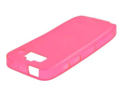 Jelly Case for Nokia E55 - Pink Soft Cover