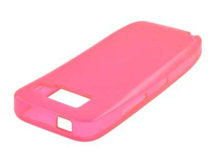Nokia E52 Jelly Case - Pink Soft Cover