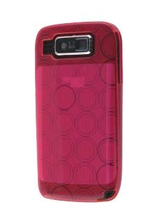 TPU Gel Case for Nokia E72 - Hot Pink Soft Cover