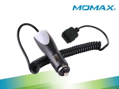 MOMAX Car Charger for iPhone - Car Charger