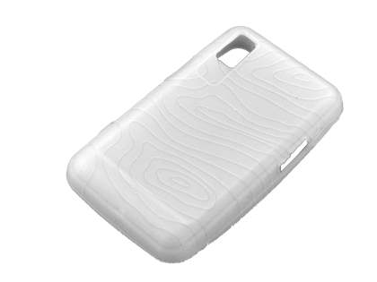 Silicone Case for Samsung F480 - White