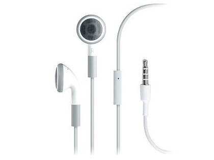 Original Apple Earphones with Remote and Mic - Headphone
