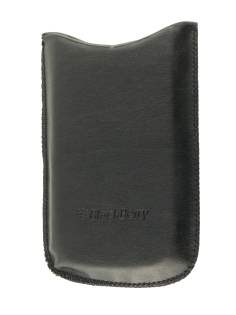 BlackBerry 9550 slip-in Synthetic Leather Case - Leather Slide-in Case