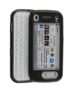 Jelly Case for Nokia n97 mini - Grey Soft Cover