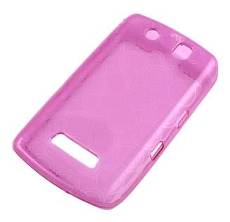 BlackBerry Storm 9500/9530 TPU Gel Case - Pink