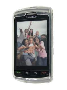 TPU Gel Case for BlackBerry Storm 9500/9530 - Clear Soft Cover