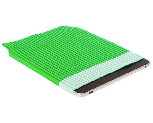 Stylish Protective Sock For Tablets - Green