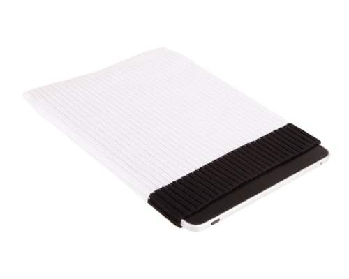 Stylish Protective Sock For Tablets - White