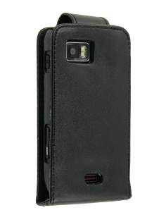 Samsung Jet S8000 Synthetic Leather Flip Case