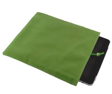 Stylish Protective Velour Sleeve - Green