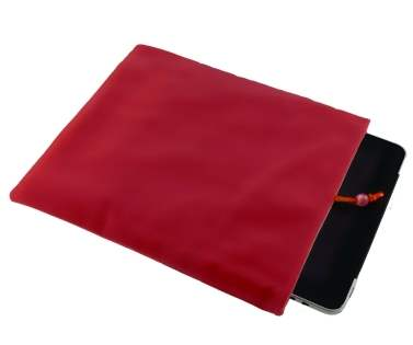 Stylish Protective Velour Sleeve - Red
