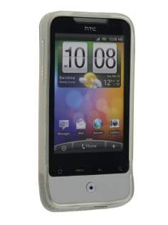 TPU Gel Case for HTC Legend - Clear Soft Cover