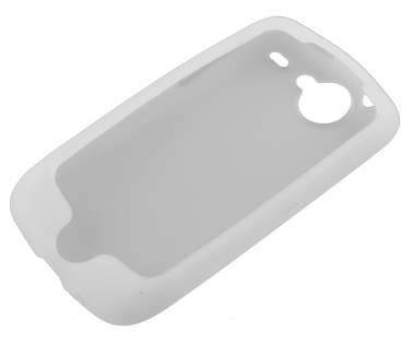 Silicone Case for HTC G5 Google Nexus One - White