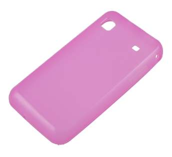 TPU Gel Case for Samsung I9000 Galaxy S - Light Pink