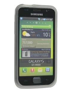 Samsung I9000 Galaxy S TPU Gel Case - Frosted Clear